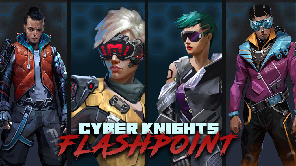 Cyber Knights: a cyberpunk RPG project video thumbnail