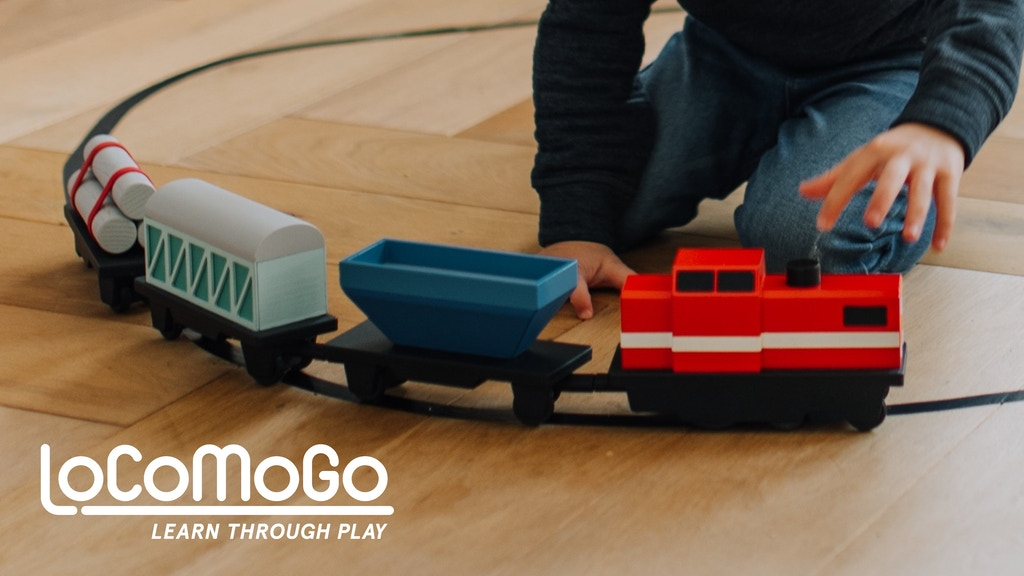 LoCoMoGo Train | Learn Coding Through Play project video thumbnail