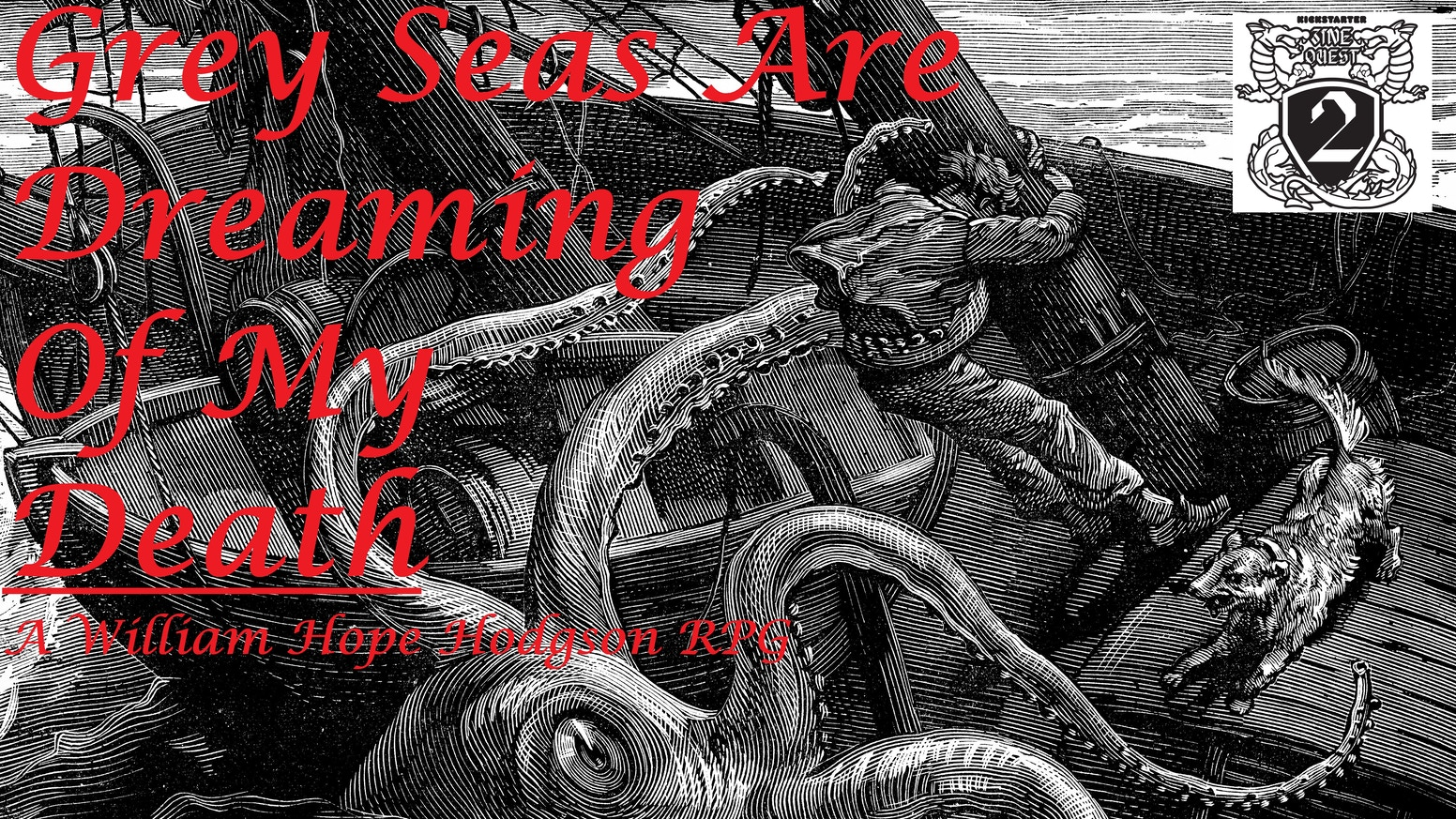 A supernatural seafaring adventure RPG zine set in the weed choked depths of William Hope Hodgson's Sargasso Seas.