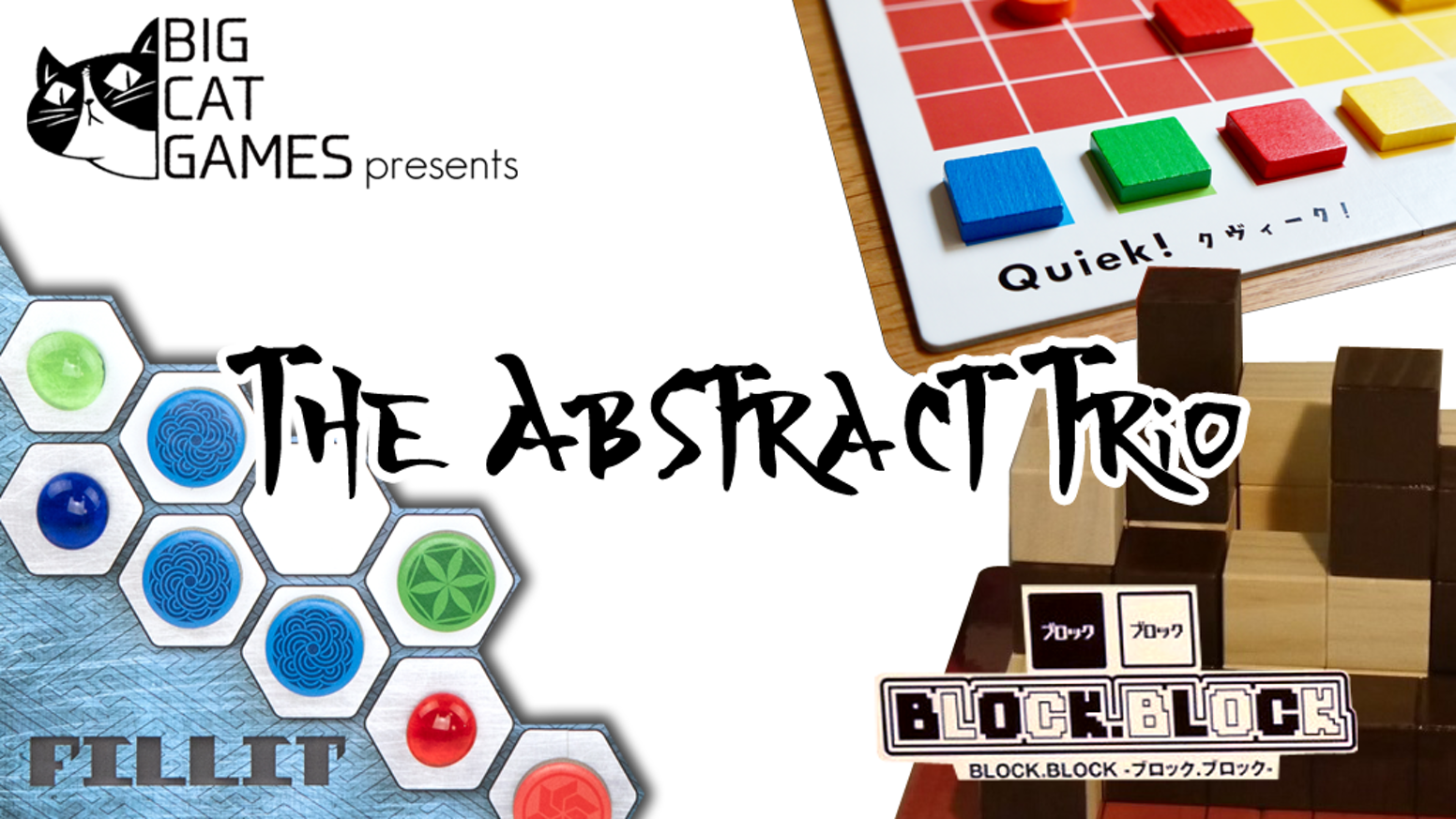 Three uniquely fun abstract games by three Japanese indie designers!