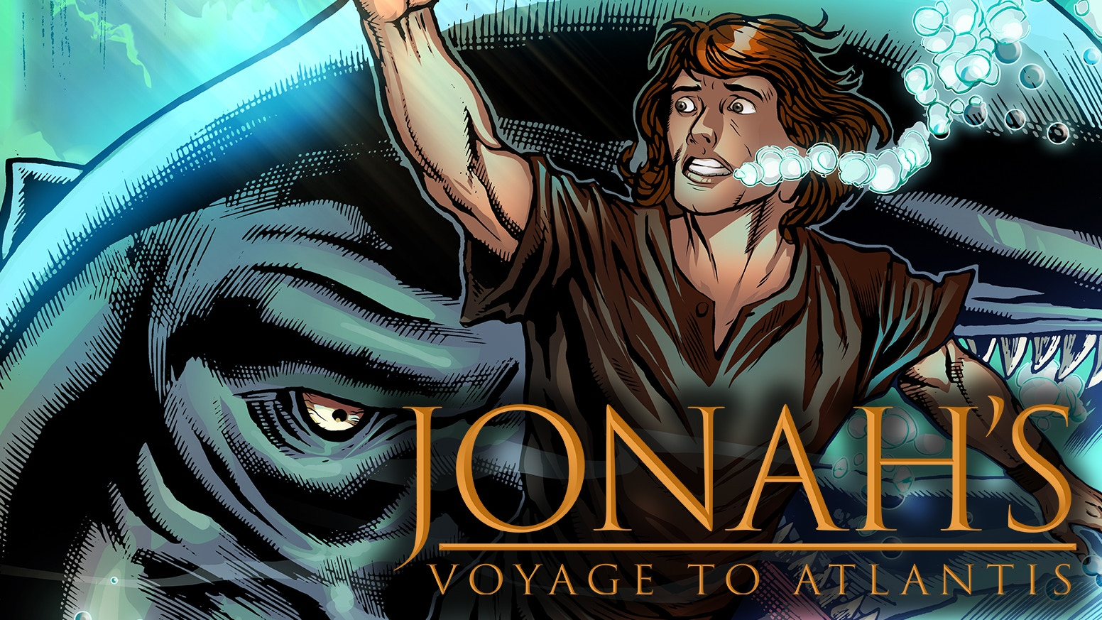 A comic book inspired by ancient legends, myths and J.R.R. Tolkien's translation of Jonah.