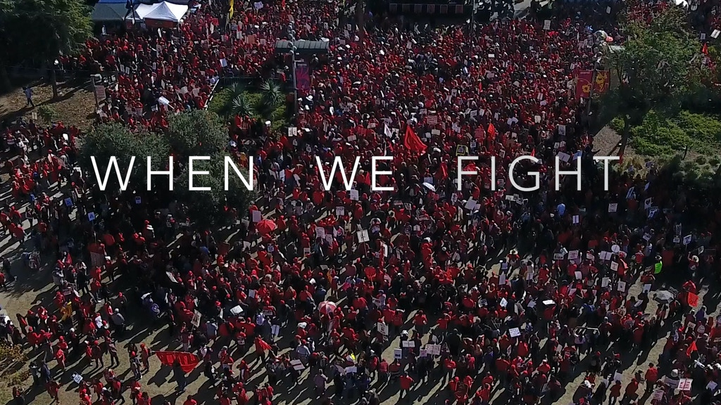 When We Fight: L.A. teachers' strike documentary project video thumbnail