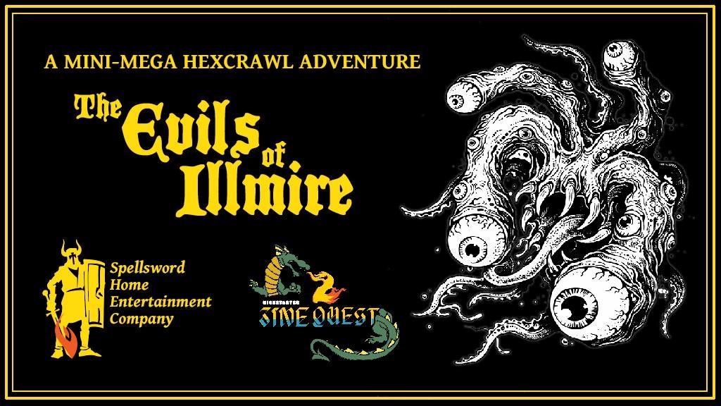 The Evils of Illmire: A Mini-Mega Hexcrawl Adventure Zine project video thumbnail