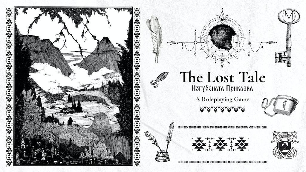 The Lost Tale by Myrylielie — Kickstarter