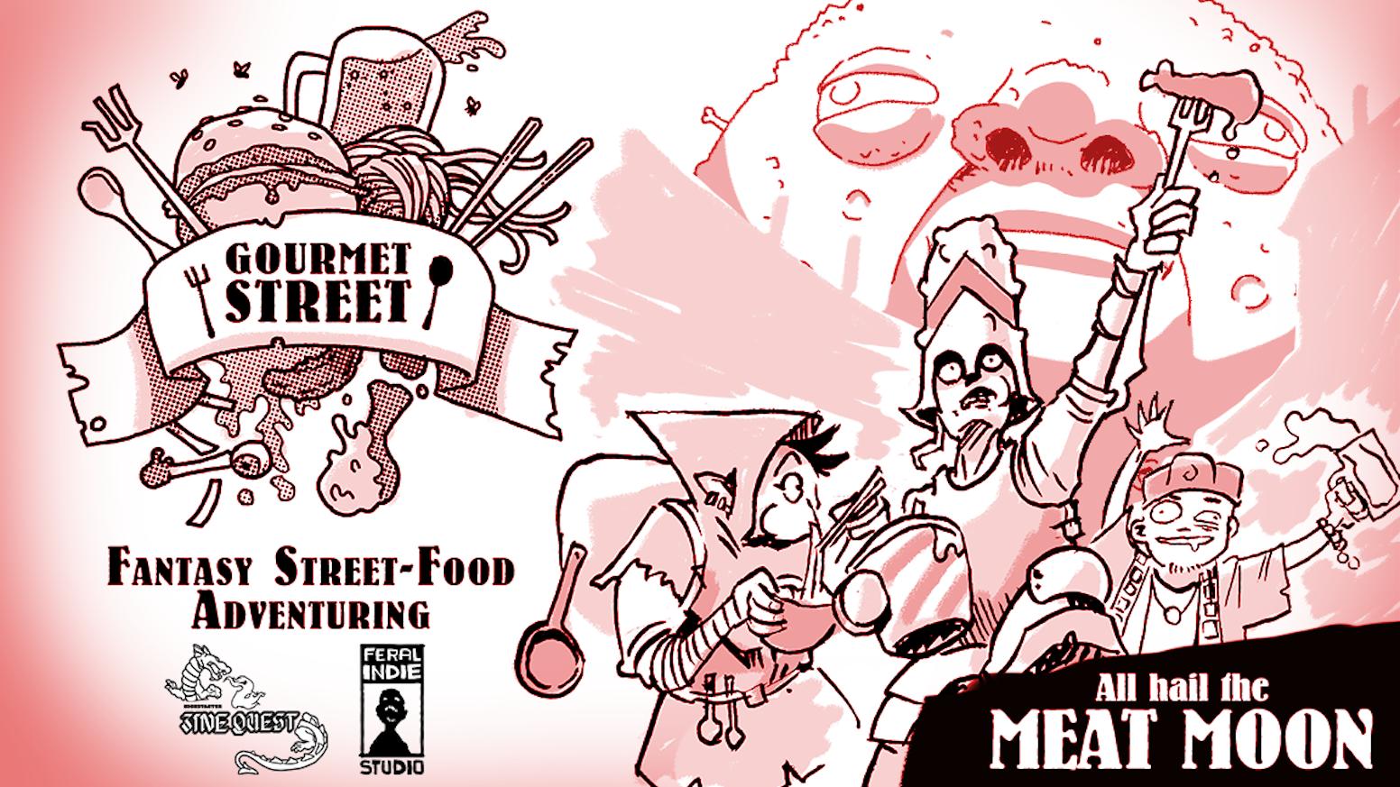Street Food RPG Zine