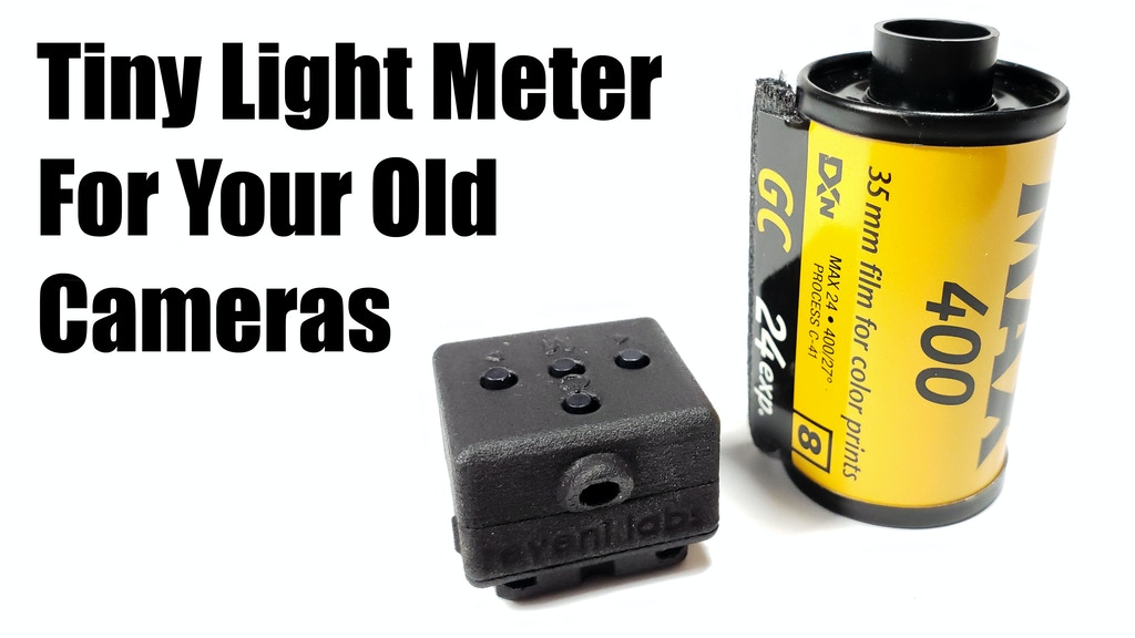 Reveni Labs Light Meter: Tiny Meter For Your Old Cameras project video thumbnail