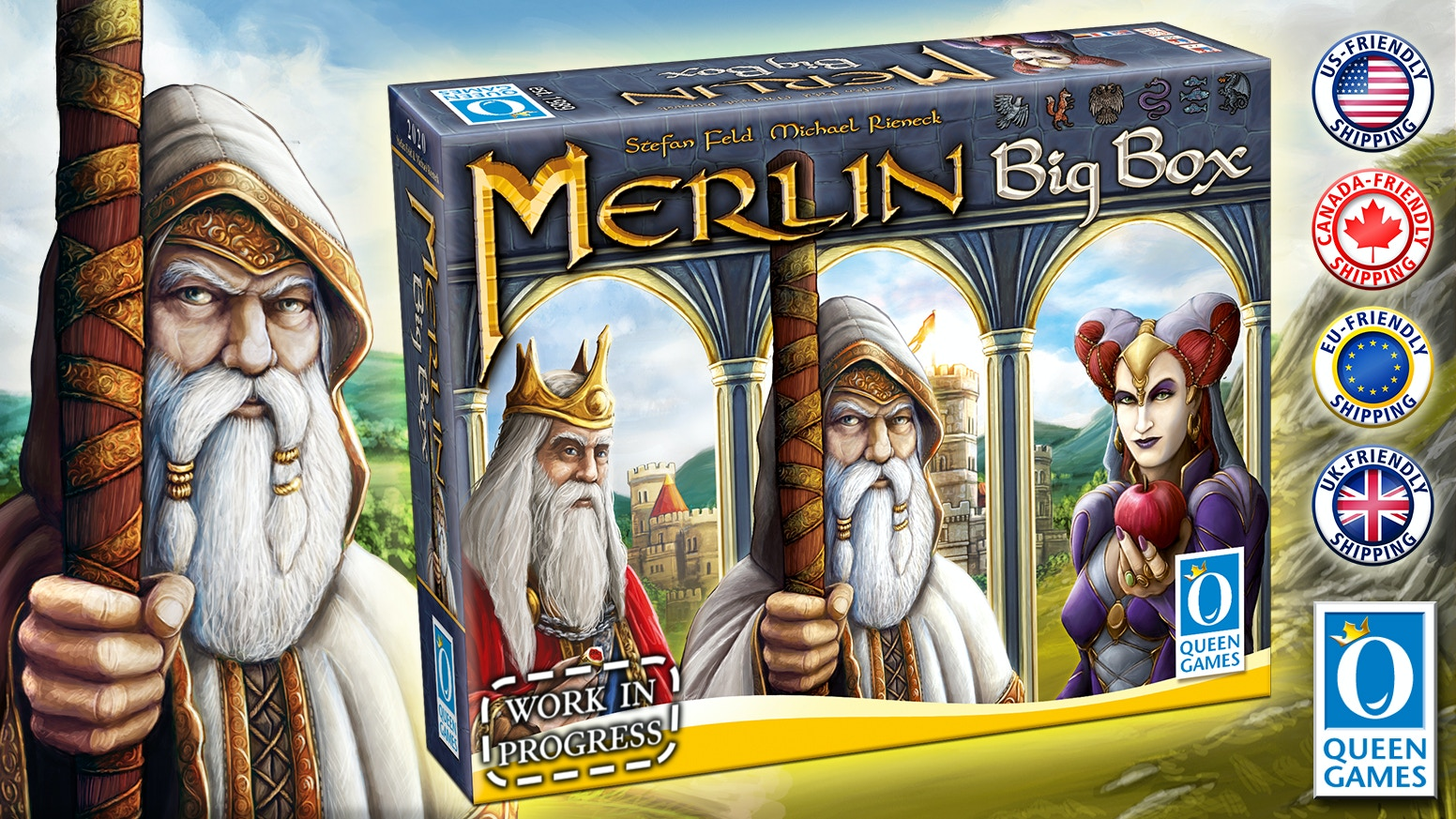 New Big Box with upgraded components and new expansion!