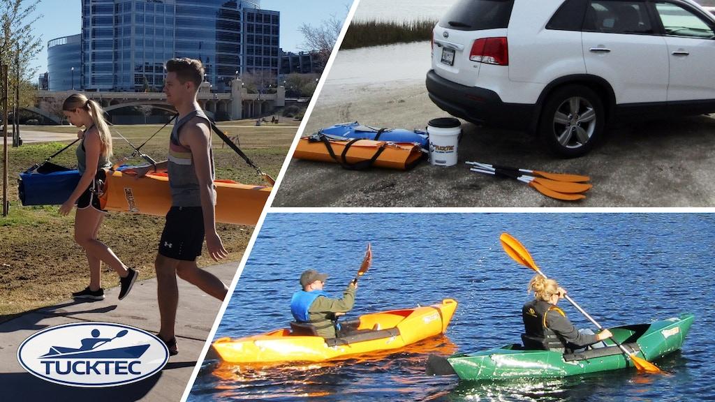 Tucktec eco Folding Kayak project video thumbnail
