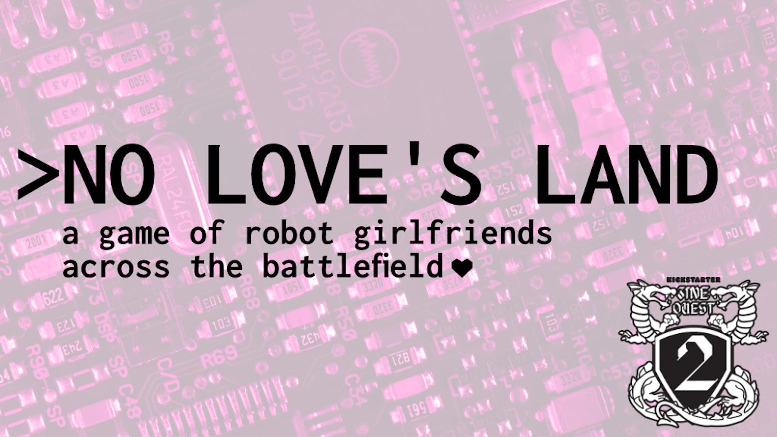 LARP for 2 players of Robot Girlfriends across the battlefield