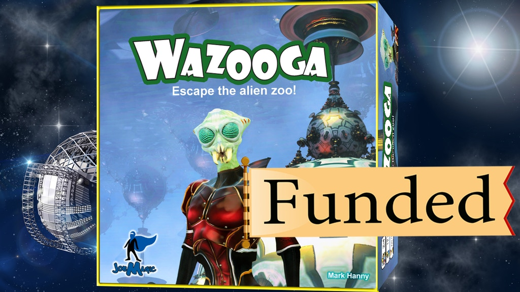 Wazooga: Escape the alien zoo! project video thumbnail