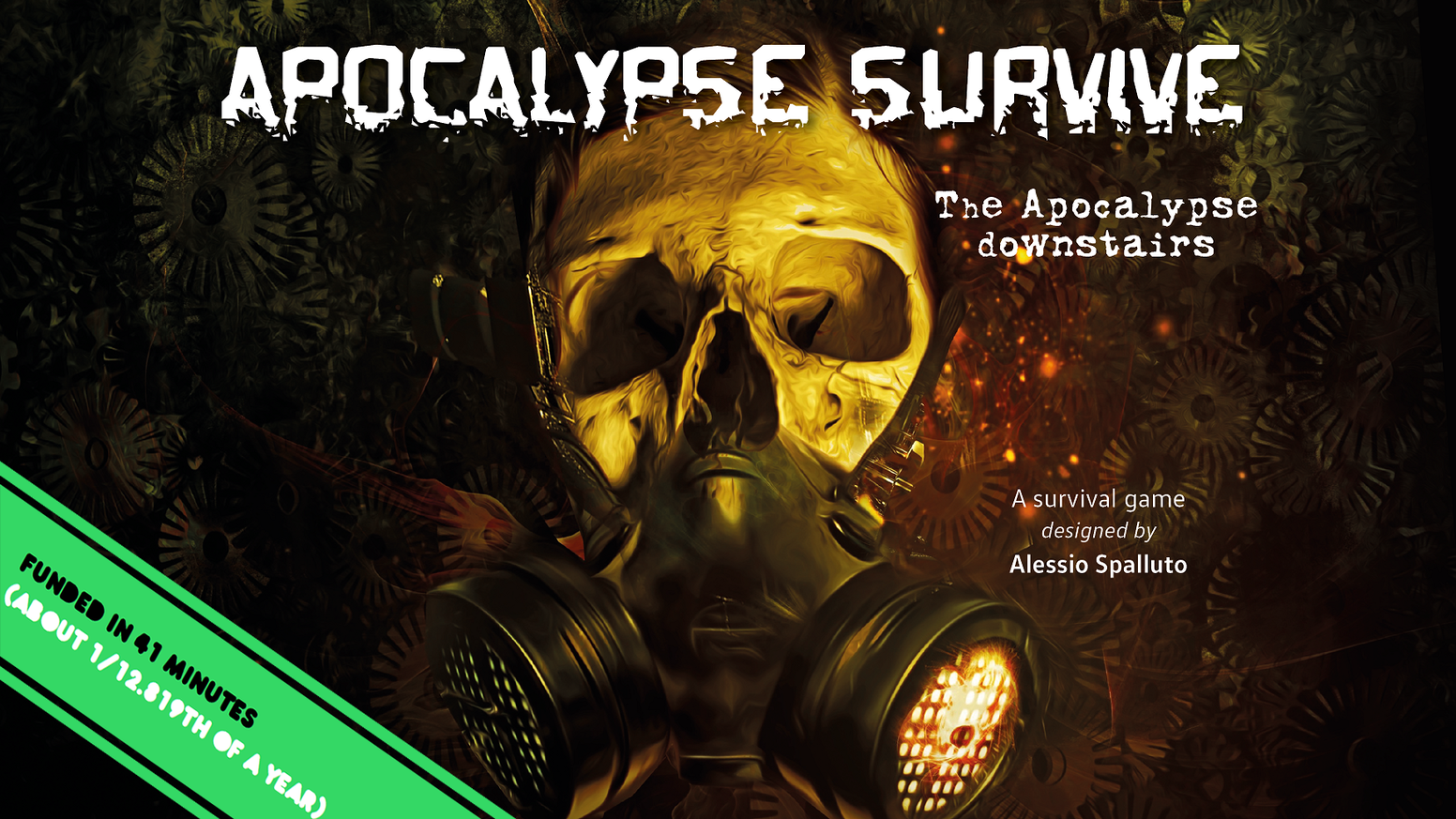 A Zine RPG were you will play yourself in the worst apocalyptic scenario you can imagine.