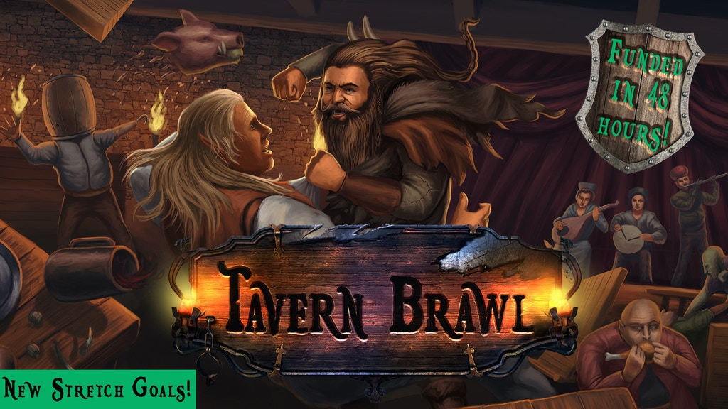 Tavern Brawl: A Tabletop RPG Inspired Fantasy Series project video thumbnail