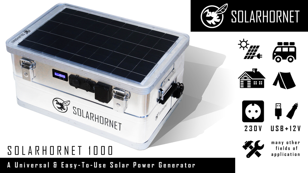 ∎∎∎∎∎ SOLARHORNET - Your Freedom In Power Supply ∎∎∎∎∎