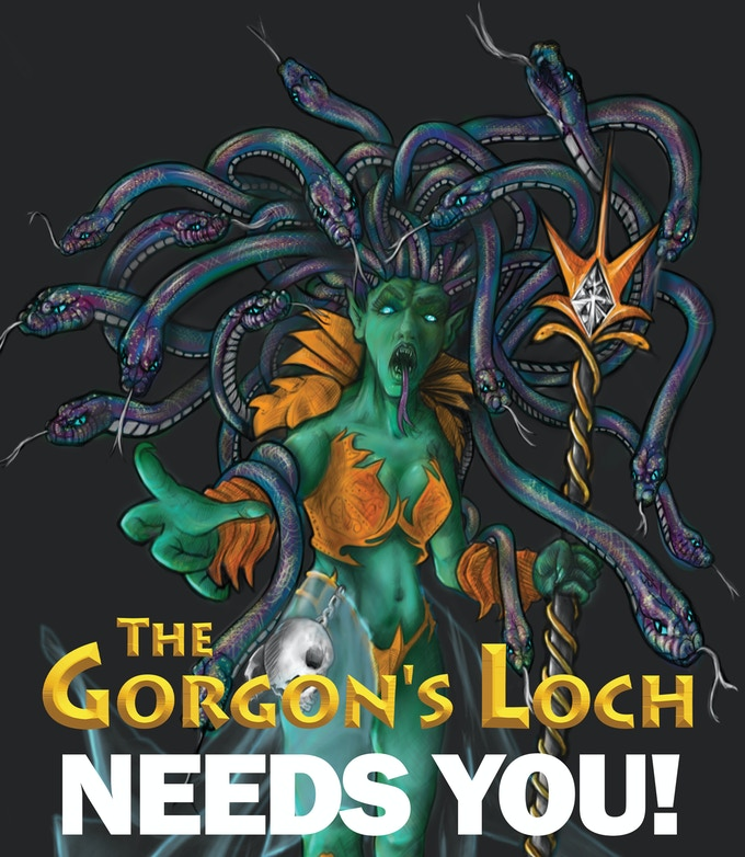 The Gorgon's Loch - Defeat the Gorgon Queen!
