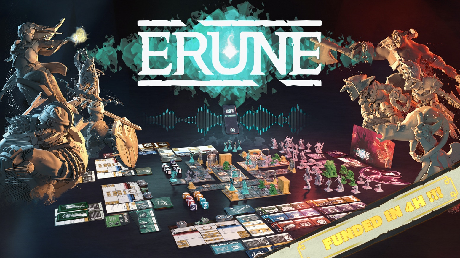 ⚔️ ERUNE ! A new kind of Dungeon crawler assisted by a voice-driven application, inspired by Heroquest !⚔️