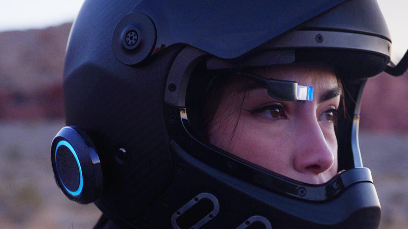 Augment your helmet with GPS, Music, and Calls. Ride Safe with our HEAD-UP DISPLAY add on.