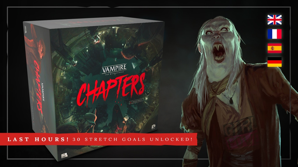 Vampire: The Masquerade – CHAPTERS project video thumbnail