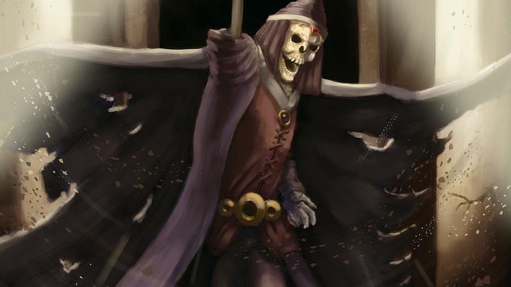 Skeletons of Myrandor book project video thumbnail