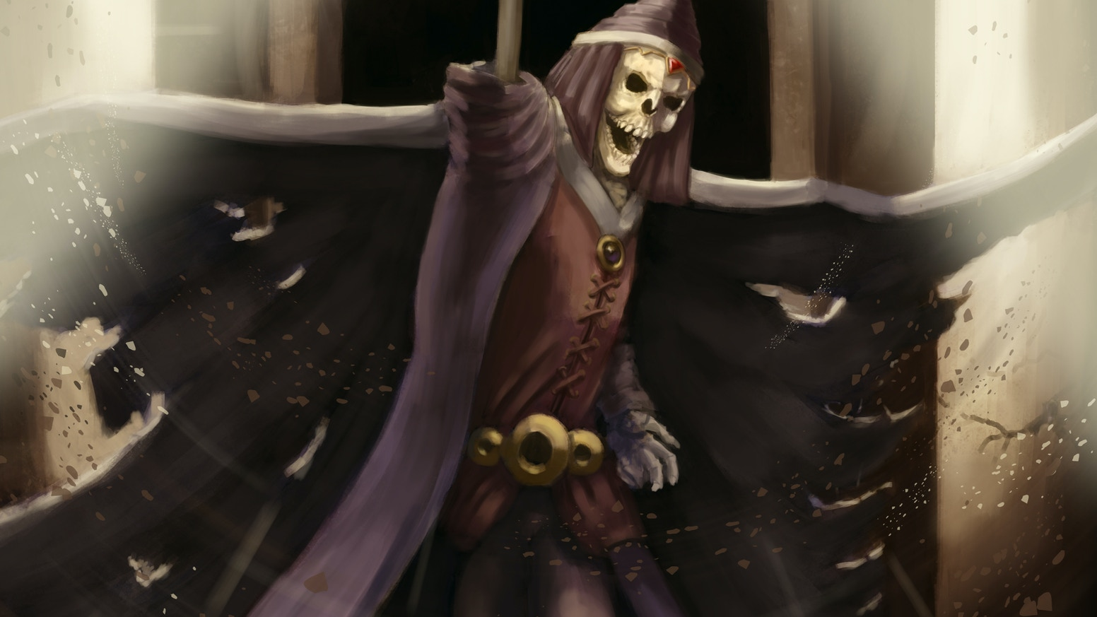 Skeletons of Myrandor - a Lore book