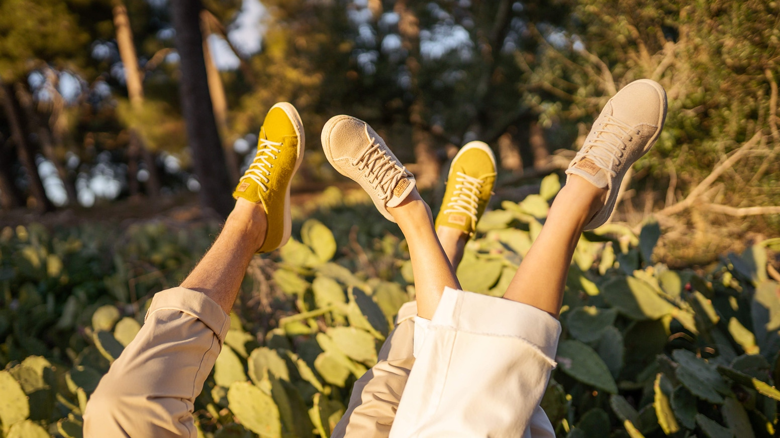 Step into durable and comfy unisex sneakers and leave no toxic legacy to the next generations that will walk the Earth