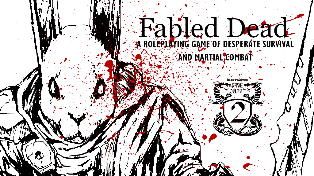 Project image for Fabled Dead - Zine Quest 2!