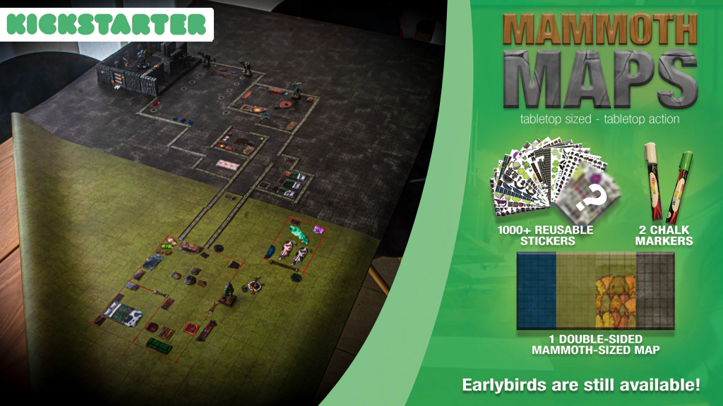 Mammoth Maps - Tabletop Sized Tabletop Action project video thumbnail