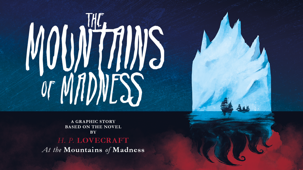 The Mountains of Madness - an HP Lovecraft graphic novel project video thumbnail