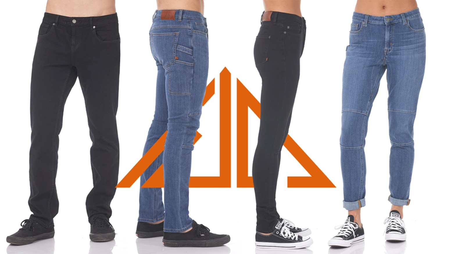 Performance denim unlike anything you've worn before. Stretch, durability, breathability, and sustainability meet for the first time.