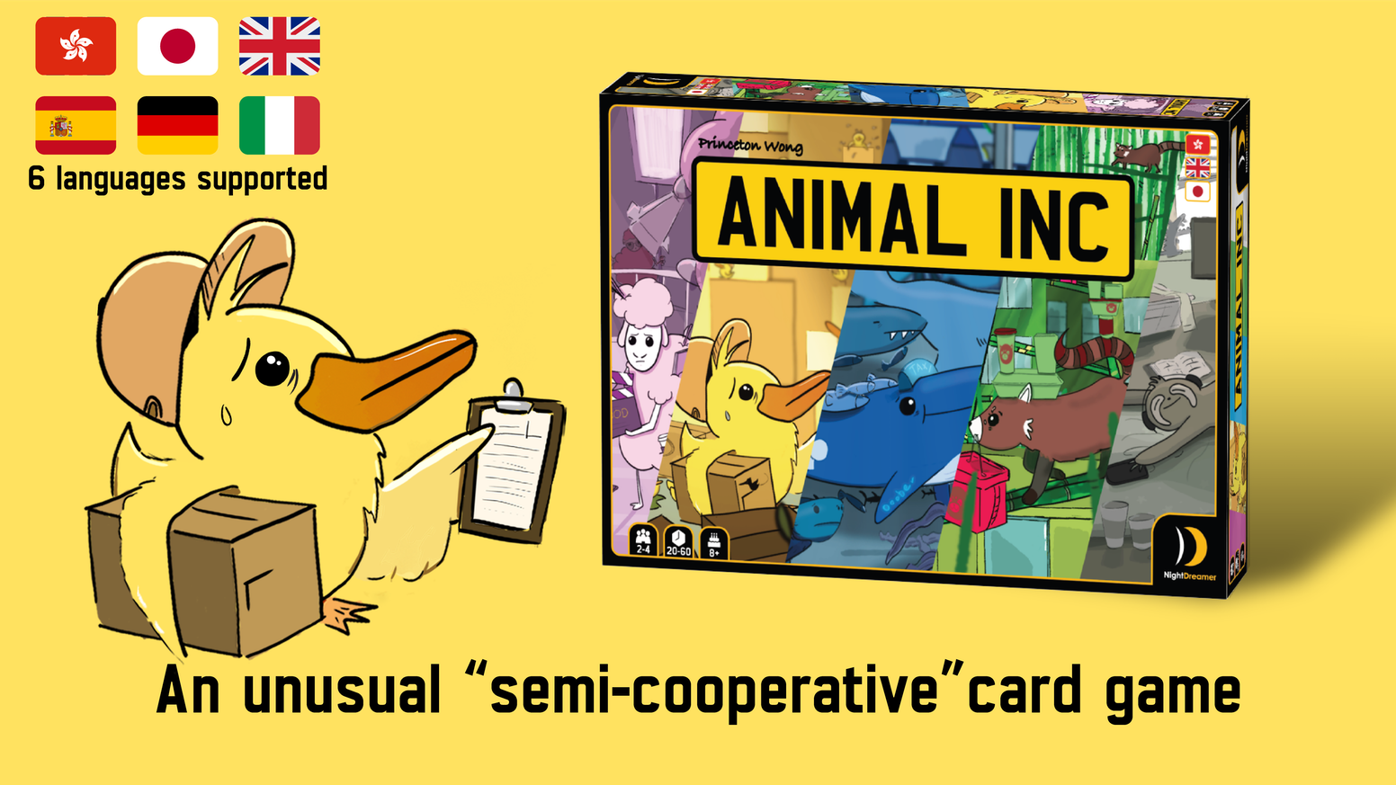 """An unusual """"semi-cooperative"""" card game for 2-4 players"""