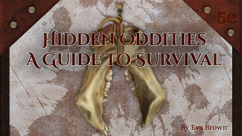 Project image for Hidden Oddities: A Guide to Survival
