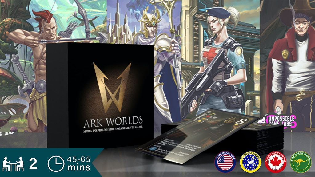 Ark Worlds: MOBA Card Game project video thumbnail