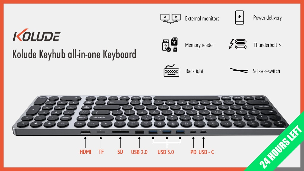 Kolude KD-K1 Keyhub all-in-one Keyboard project video thumbnail