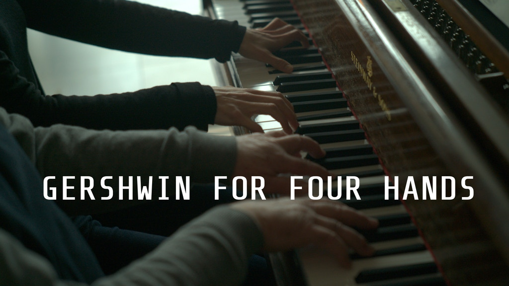 Gershwin for four hands: a new CD of music for piano duo project video thumbnail
