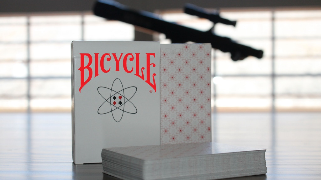 Project image for Planck: Bicycle Branded Playing Cards printed by the USPCC