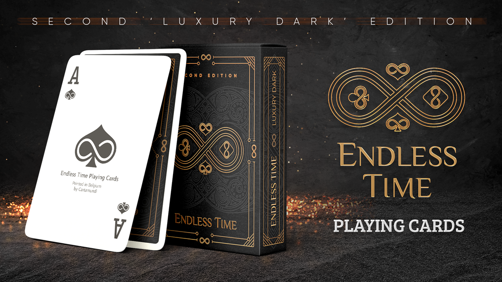 Project image for Endless Time (Luxury Dark) Playing Cards