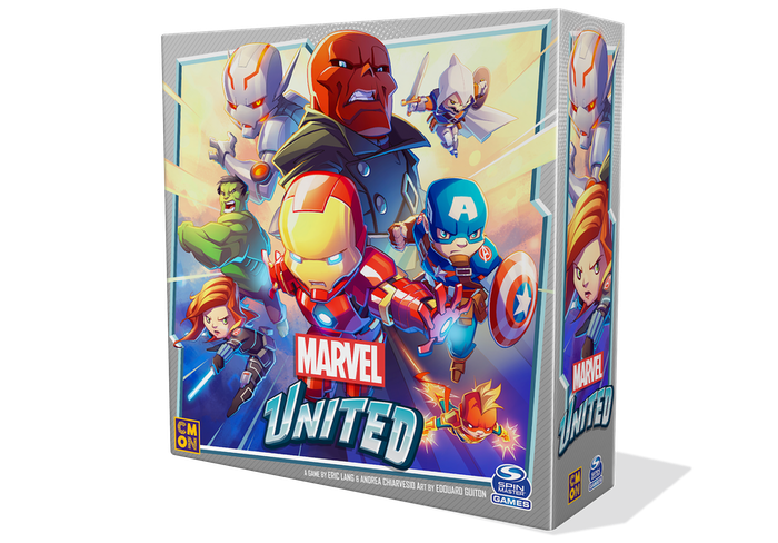 Take the role of Marvel's mightiest Heroes and thwart the Villain's plans in this fast-paced cooperative game with amazing sculpts!