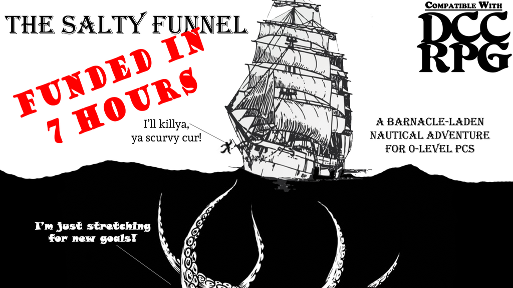 The Salty Funnel for DCC RPG project video thumbnail