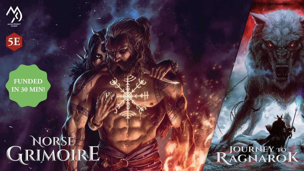 Norse Grimoire for 5th Edition & Journey To Ragnarok reprint project video thumbnail