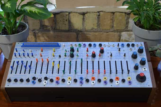 Buchla's synthesizers are made in the Bay Area but use parts sourced from China