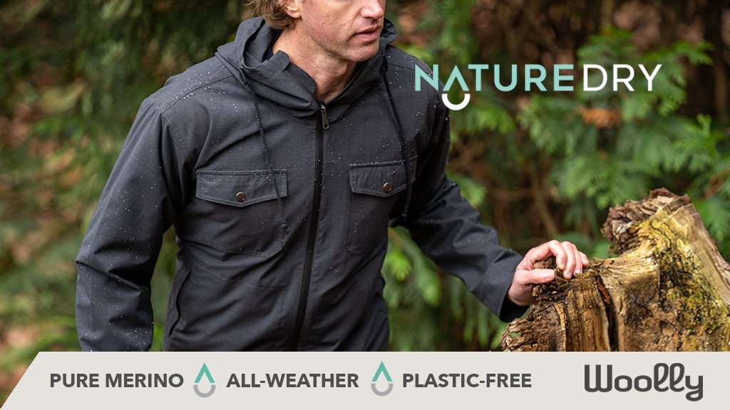 The NatureDry Jacket by Woolly - Performance without plastic