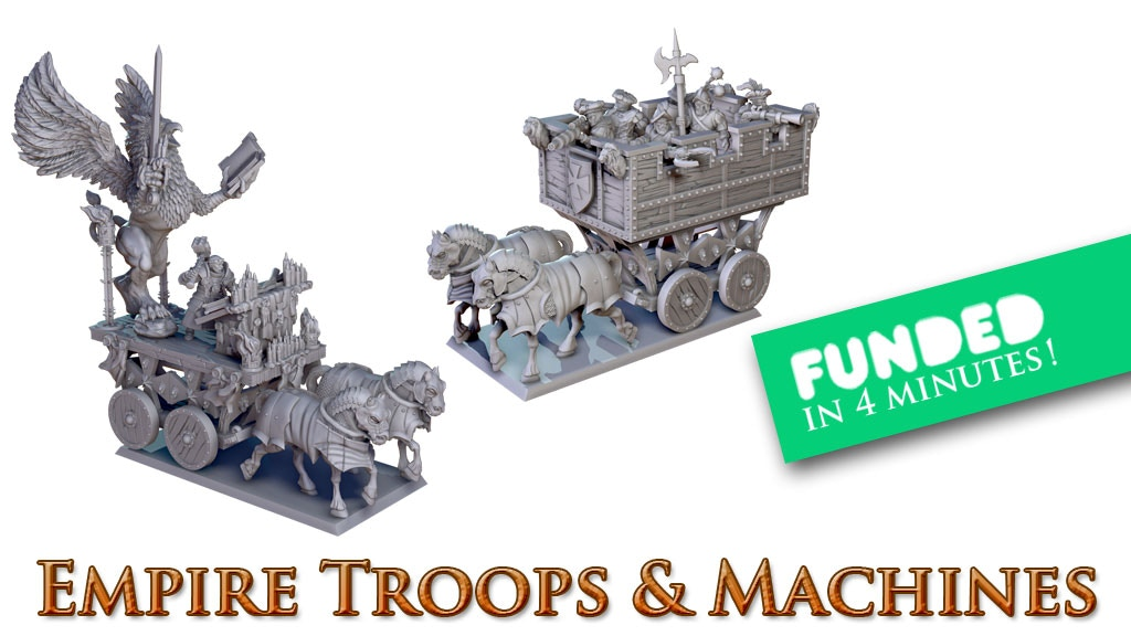 Norbaminiatures Empire Troops and Machines project video thumbnail