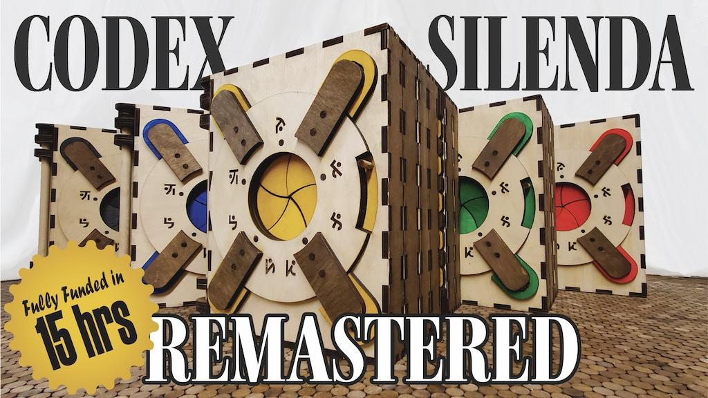 CODEX SILENDA | REMASTERED project video thumbnail
