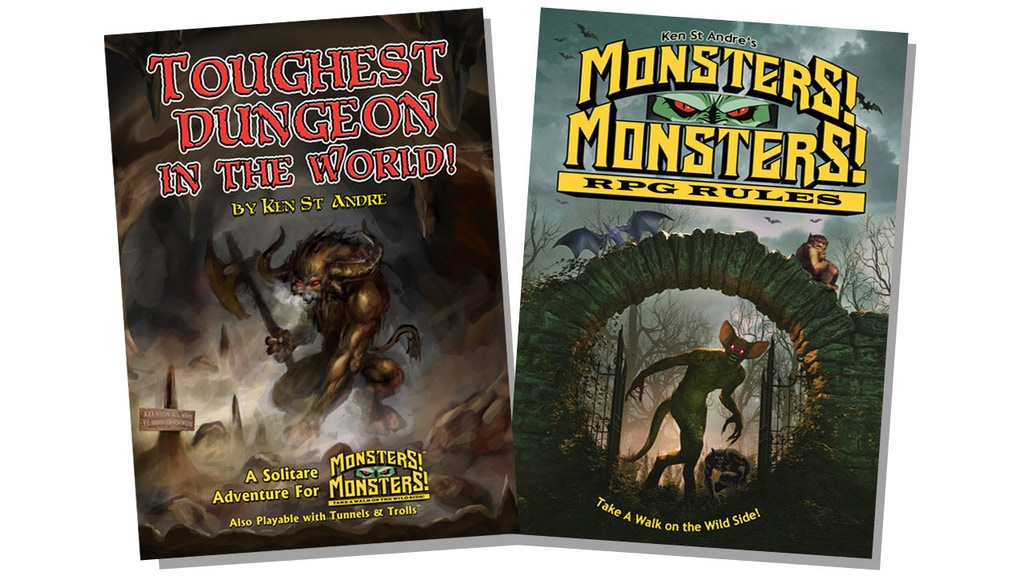 "Project image for Monsters! Monsters rpg &""Toughest Dungeon in the World"" solo"