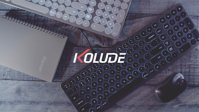 The aluminum scissor-switch keyboard with rich ports and connections that's built to last and improve work and gaming experiences