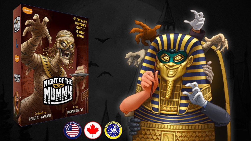 Night of the Mummy project video thumbnail