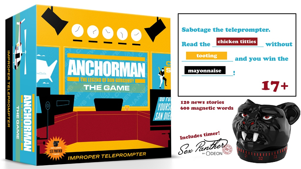 ANCHORMAN: THE GAME project video thumbnail