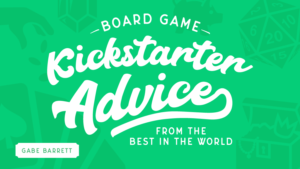Board Game Kickstarter Advice project video thumbnail