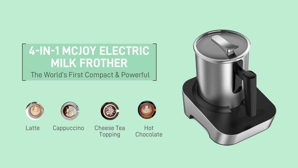 MCJOY: Ultimate Small & Quiet Thick Hot/Cold Milk Foamer project video thumbnail