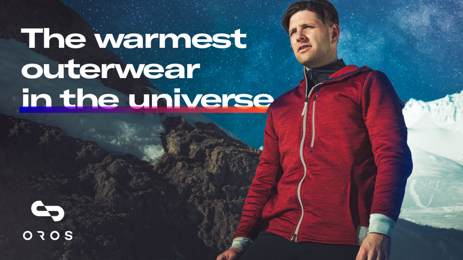 Apparel powered by NASA's insulation, aerogel. Tested in Space - Designed for your adventures on Planet Earth.