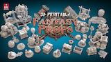 3D Printable Fantasy Props thumbnail